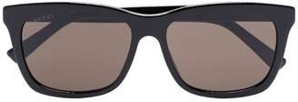 Gucci black wide rim sunglasses