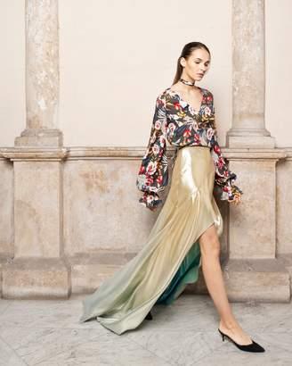 Adriana Iglesias Linwood Long Sleeve Blouse