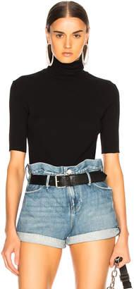 Helmut Lang Short Sleeve Turtleneck Sweater