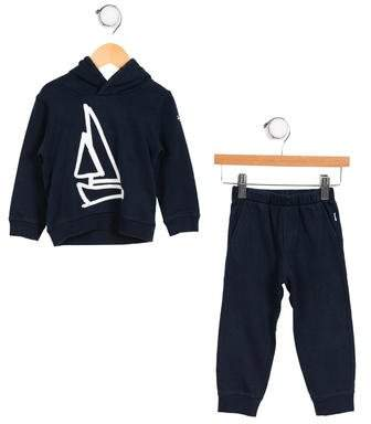 Il Gufo Boys' Hooded Two-Piece Set