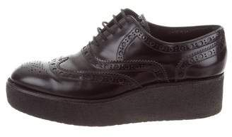 Louis Vuitton Platform Wingtip Oxfords