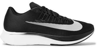 Nike Running - Zoom Fly Mesh Sneakers - Black
