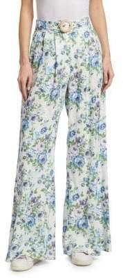 Zimmermann Breeze Floral Slouch Pants