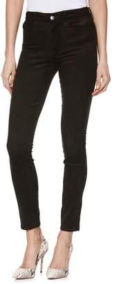 Paige Hoxton High Waist Ultra Skinny Corduroy Pants