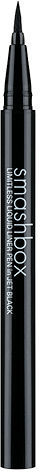 Smashbox Limitless Liquid Liner Pen, Jet Black 0.02 oz