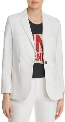 Anine Bing Schoolboy One-Button Blazer