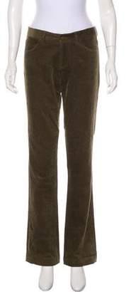 Ralph Lauren Mid-Rise Wide-Leg Corduroy Pants