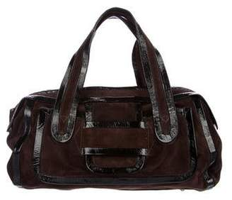 Pierre Hardy Suede Handle Bag