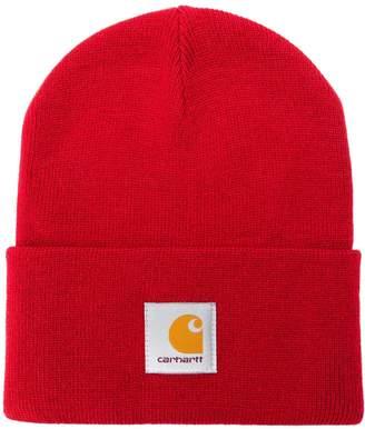 Carhartt WIP logo patch beanie hat