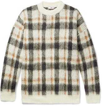Cmmn Swdn Micha Oversized Checked Knitted Sweater