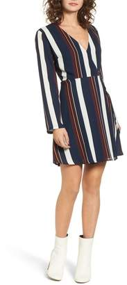 Lush Elly Wrap Dress