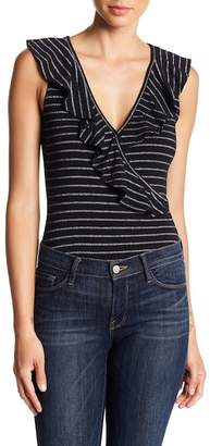 Cupcakes And Cashmere Blithe Striped Bodysuit