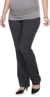60ace517fe4 A Glow Maternity a glow Full Belly Panel Bootcut Pants