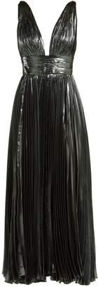 Maria Lucia Hohan Sada pleated silk-blend gown