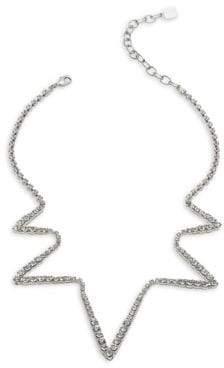 Dannijo Lotus Crystal Necklace
