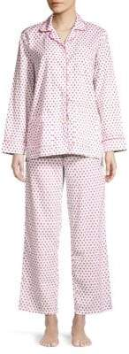 Roller Rabbit Heart Print Pajama Set
