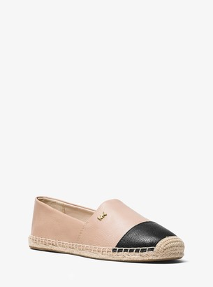 MICHAEL Michael Kors Kendrick Leather Slip-On Espadrille