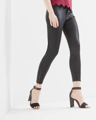 Ted Baker ANNNAS Wax finish skinny jeans