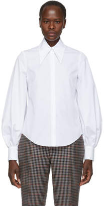 Erdem White Eula Shirt