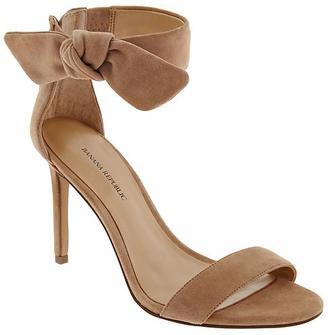 Jasmine Heeled Sandal $138 thestylecure.com