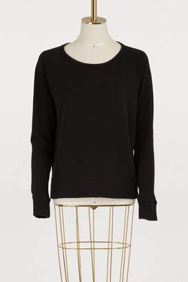 James Perse Long-sleeved raglan sweatshirt