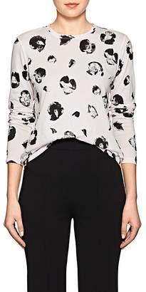 Proenza Schouler Women's Floral Cotton T-Shirt
