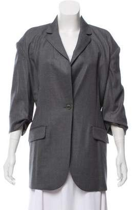 David Szeto Wool-Blend Blazer w/ Tags