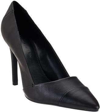 Halston H By H by Leather Pointed-toe High Heel Pumps - Lillian