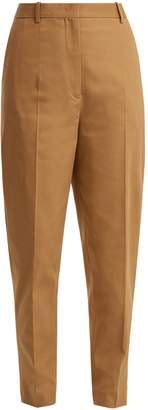 Jil Sander Egbert cotton-blend trousers
