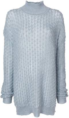 Jil Sander oversized turtle neck jumper