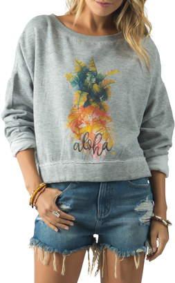 Rip Curl Aloha Palms Graphic Sweatshirt