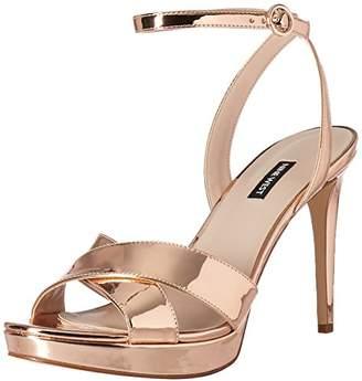 Nine West Women's QUISHA Synthetic Heeled Sandal