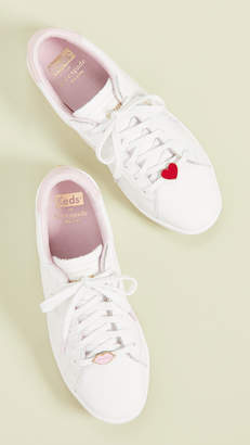 724b755f7d746 Keds x Kate Spade Ace Lips Hearts Sneakers