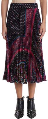 RED Valentino Pleated Long Skirt
