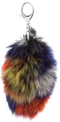 Rebecca Minkoff Fox Tail Bag Charm w/ Tags
