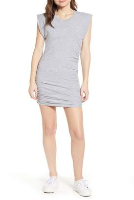 Splendid Ruched Jersey Minidress