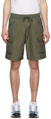 John Elliott Khaki Tactical Cargo Shorts