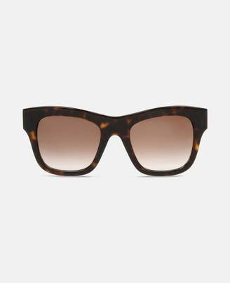 Stella McCartney havana falabella square sunglasses