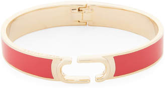 Marc Jacobs Bight Cardinal Hinged Cuff Bracelet