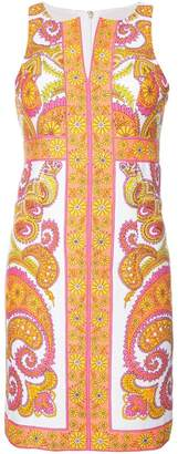 Trina Turk paisley print mini dress