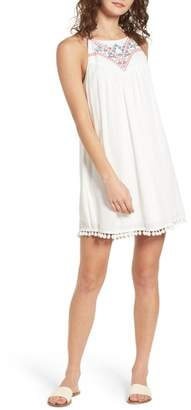Speechless Embroidered Swing Dress