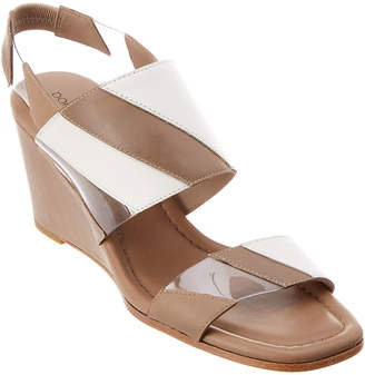 Donald J Pliner Levie Leather Wedge Sandal