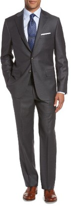Men's Hickey Freeman B Series Classic Fit Loro Piana Wool Suit $1,395 thestylecure.com