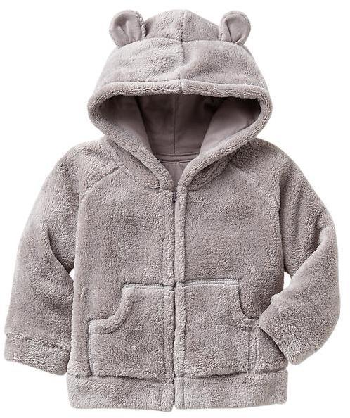 Gap Sherpa bear zip hoodie
