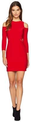 Bebe Lacing Cut Out Dress Women's Dress