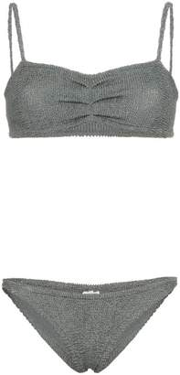 Hunza G Trina braided bandeau bikini