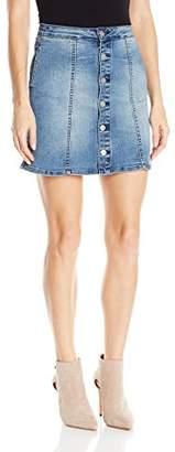 Calvin Klein Jeans Women's Womens Denim Mini Jean Skirt