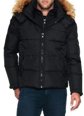 S13 Matte Faux Fur Downhill Jacket