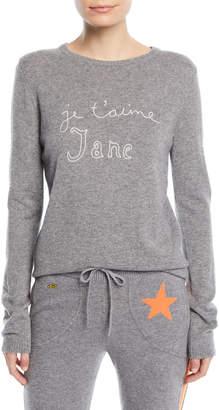 Bella Freud Je T'aime Jane Cashmere Sweater