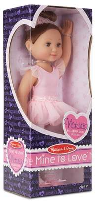 Melissa & Doug 'Victoria' - 14-Inch Ballerina Doll